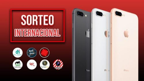 Sorteo internacional del Iphone 8 Plus