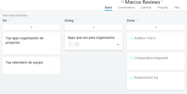 top de aplicaciones para organizarme-Asana tareas