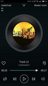 Audiocast app instaling 6