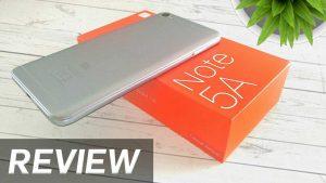Xiaomi Redmi note 5A Review