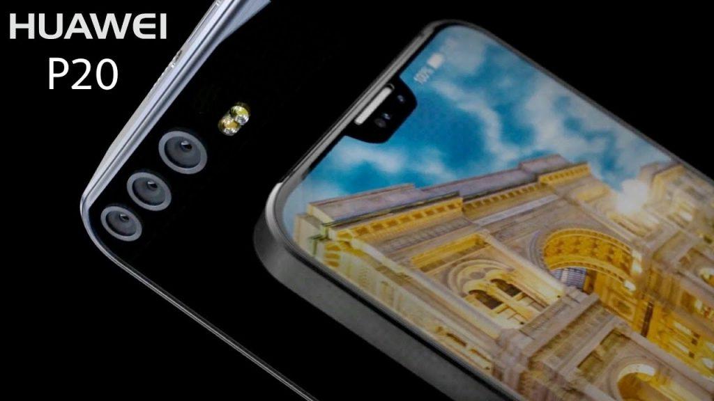 Huawei P20 pro con triple camara trasera y frontal con notch