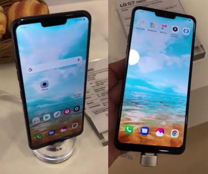 LG G7 Neo-LG V40
