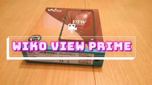 Primeras impresiones del Wiko View Prime