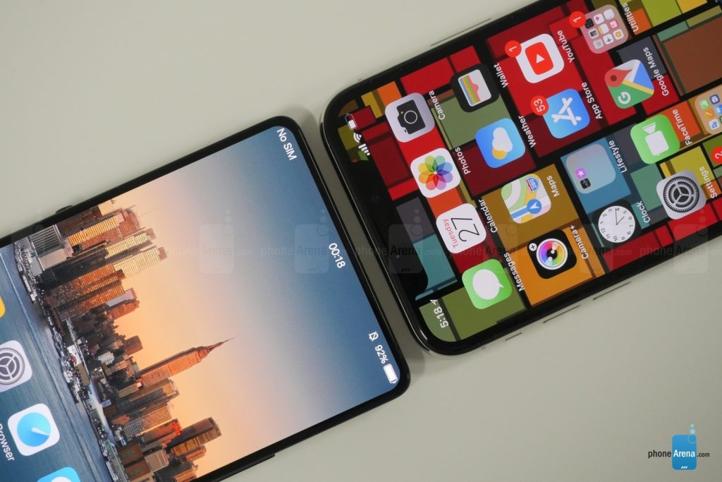 Vivo Apex vs iPhone X
