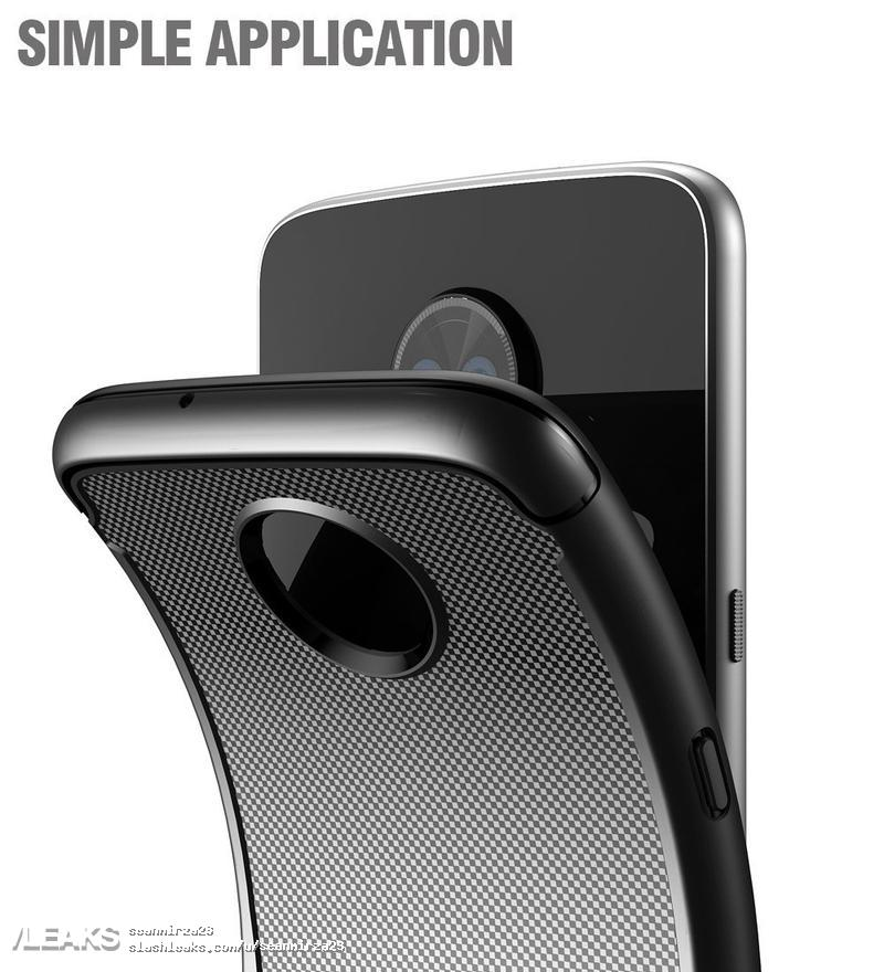 posible funda del Moto Z3 Play