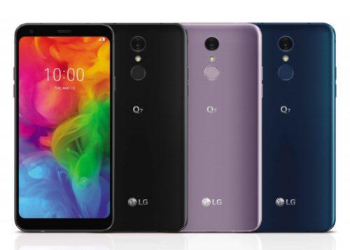 LG Q7 2018: terminal de gama media con pantalla FullVision, audio HiFi y protección  IP68