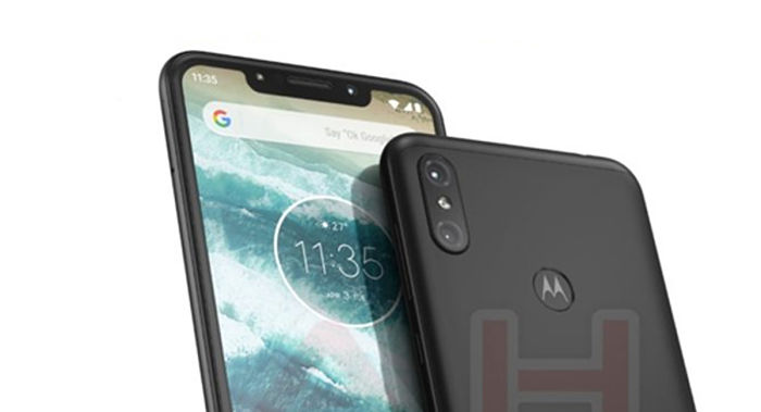 Motorola con notch