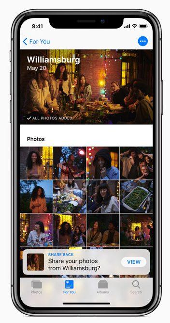 iOS 12-cámara