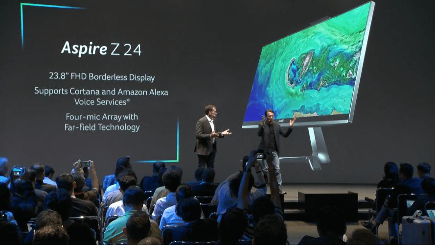 Acer Aspire Z24 -Presentación de Acer en el IFA de Berlín 2018