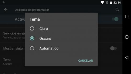 Tema oscuro para Android Pie 9 y algo mas