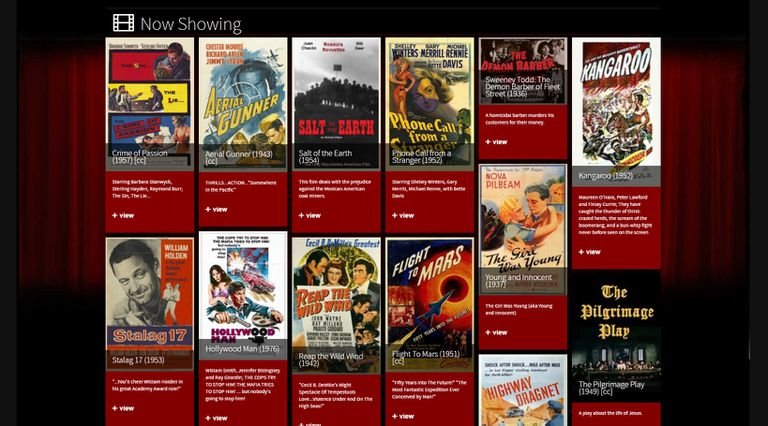 ver películas gratis-Classic Cinema Online