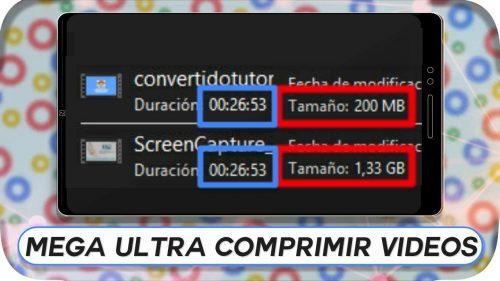 Como Comprimir Videos hasta un 75%