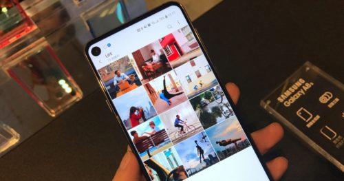 Samsung Galaxy A8s ha sido presentado y estas son sus características