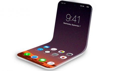 Apple presenta una patente de un móvil Plegable, aquí los detalles