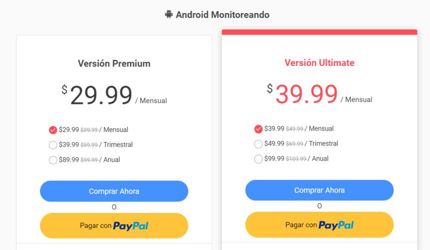 monitorear cualquier Android