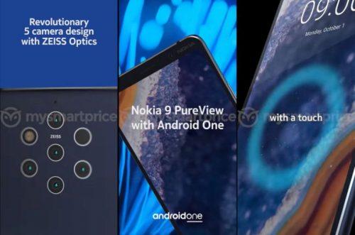 Filtrada la fecha de presentación del Nokia 9