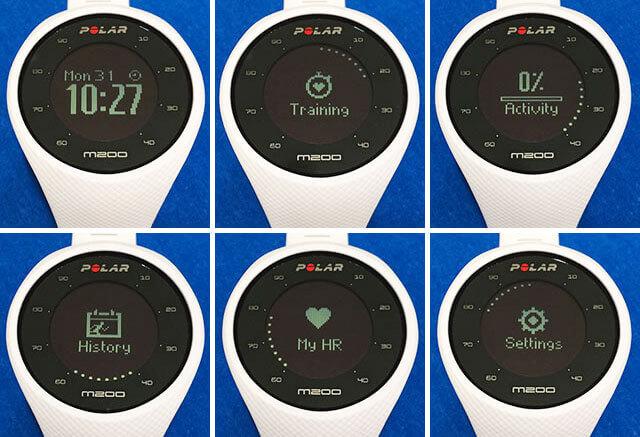 mejores relojes deportivos-Polar m200
