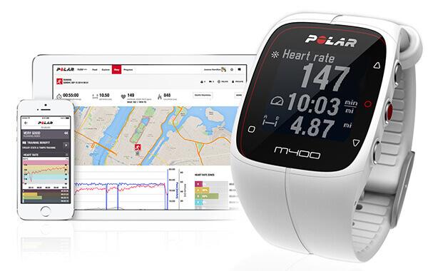 mejores relojes deportivos-Polar m400