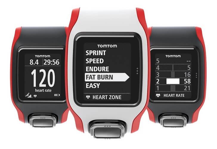 mejores relojes deportivos-TomTom Cardio Runner
