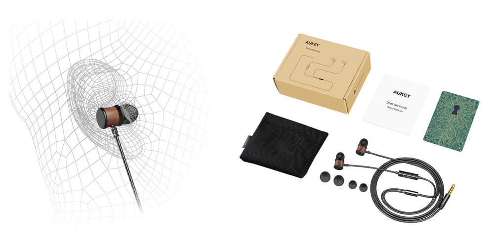 4 gadgets de Aukey económicos-Auriculares EP X2