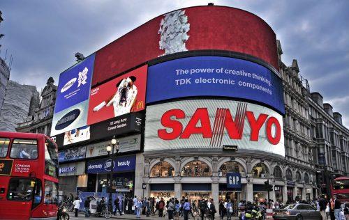 Pantallas LED pensadas para campañas de publicidad