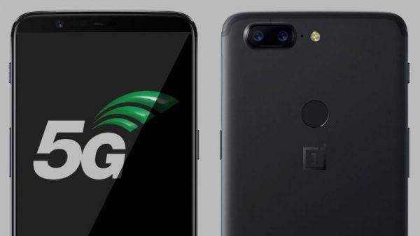 Teléfono móvil 5G conexión OnePlus