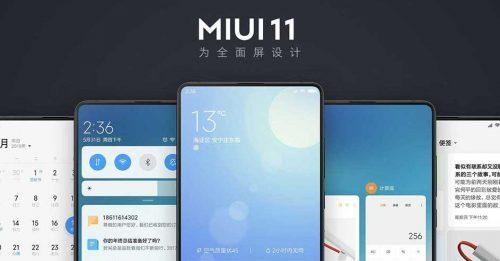 La versión de Xiaomi MIUI 11 podría implementarse en estos dispositivos
